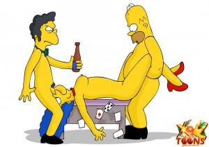 simpsons hardcore cartoon porn
